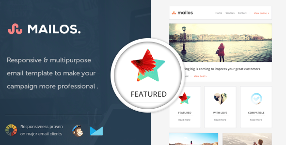 Mailos - Responsive Email Template