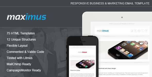 Maximus - Responsive Email Template