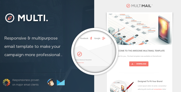 MultiMail - Responsive Email Template