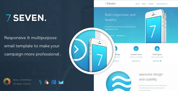 SevenMail - Responsive Email Template