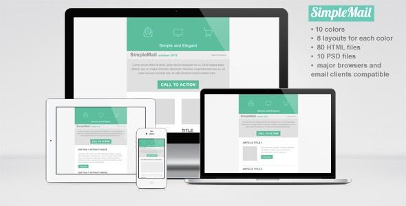 40+ Responsive Email Templates | 56pixels.com