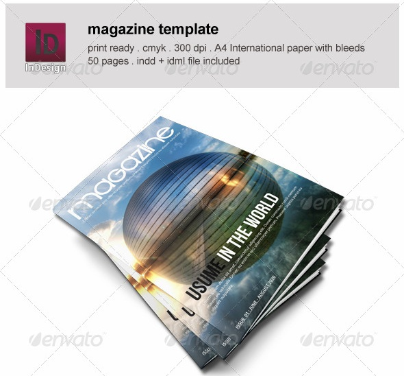 Pages Magazine Templates