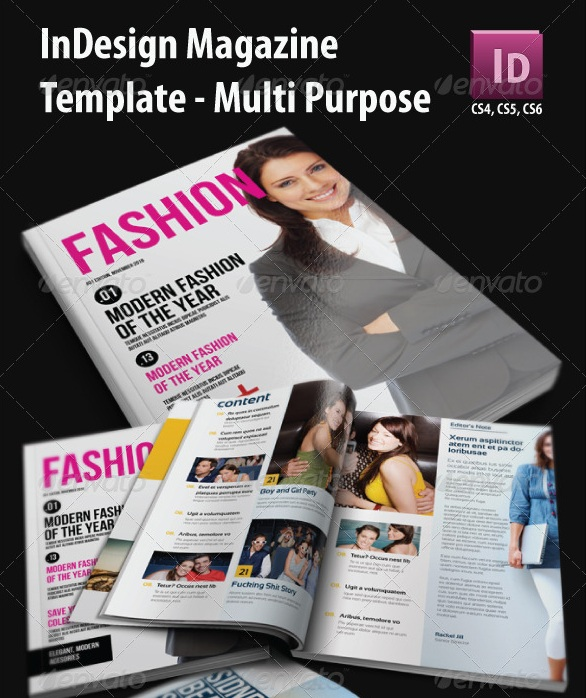 Fashion Magazine Templates