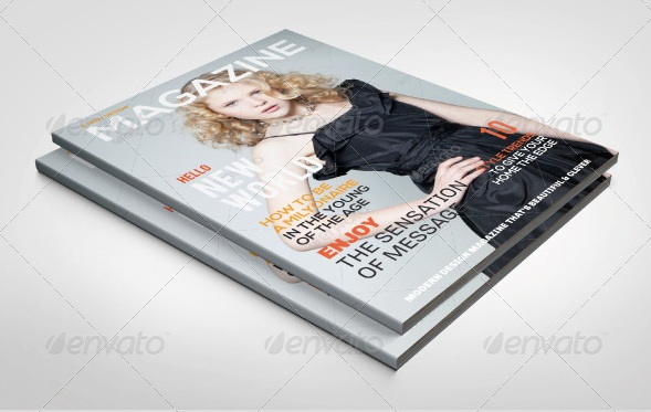 Magazine Templates (Portrait)