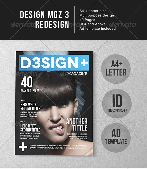 Design Magazine Template