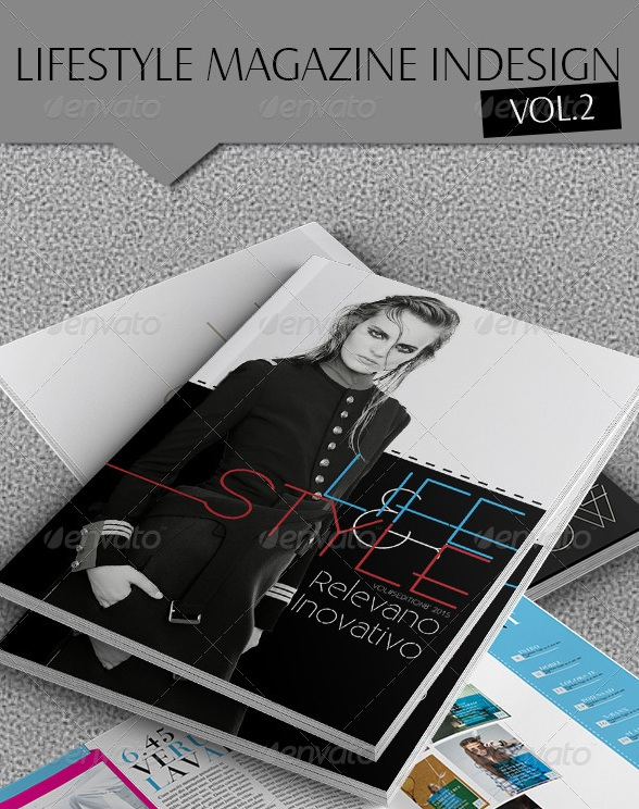 Indesign Lifestyle Magazine Template