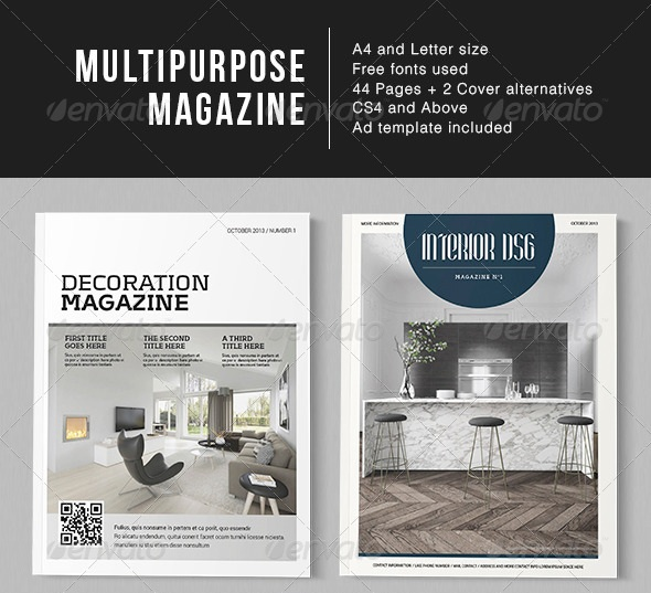 Multipurpose Page Magazine
