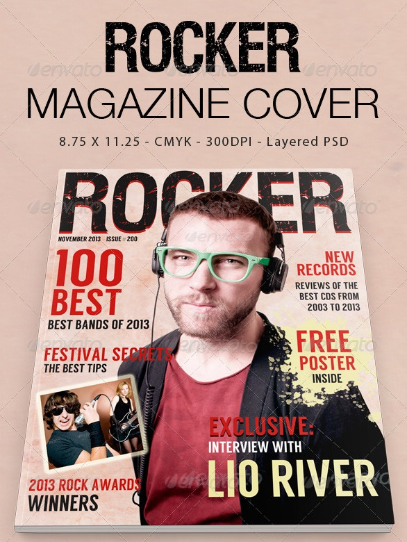 Rocker Magazine Cover