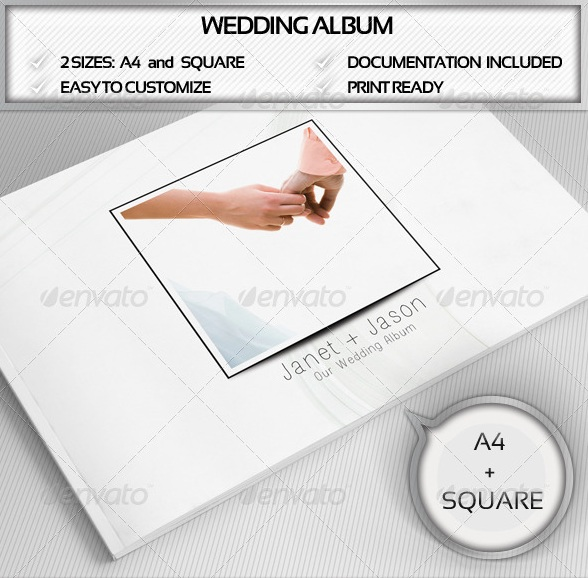 Elegant Wedding Album