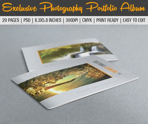 Exclusive Photography Portfolio Album