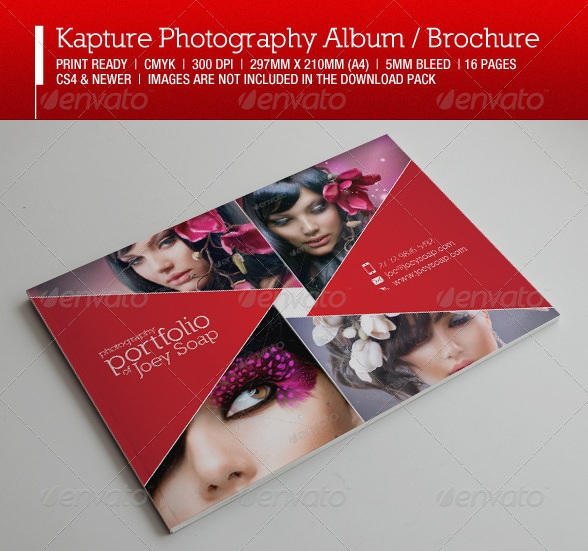Kapture Photography Album / Brochure