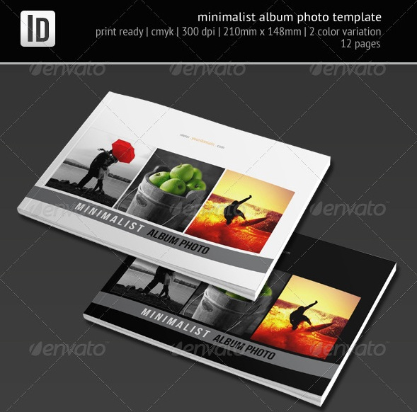 Minimalist Album Photo Template