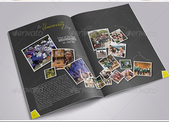 Modern Yearbook Template