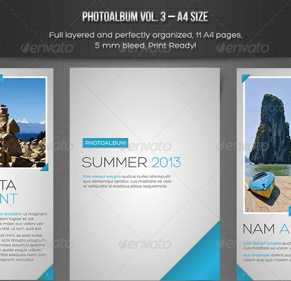 Photo Album vol. 3 – InDesign Template