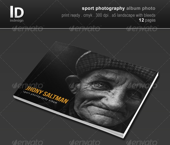 Sport Photography Album Photo
