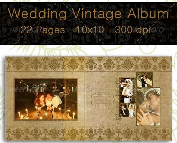 Wedding Vintage Album