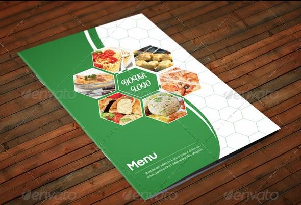 Restaurant Menu A4 Vol2