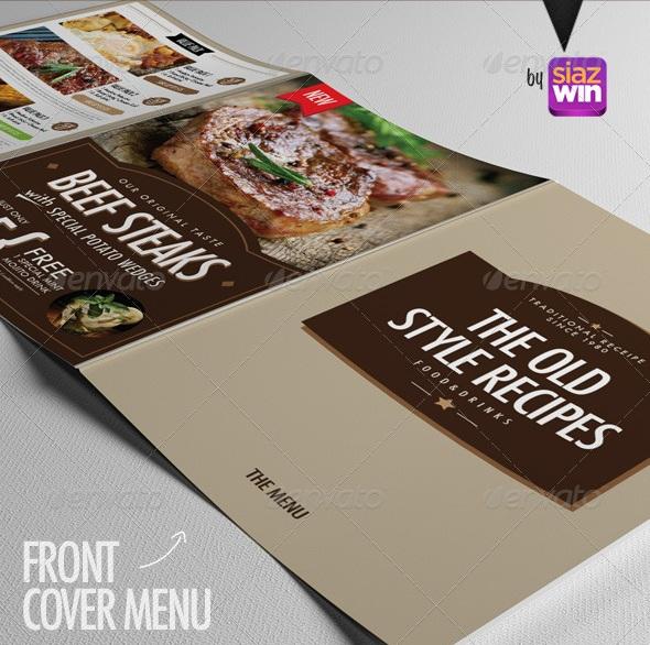 The Amazing Restaurant Menu 6