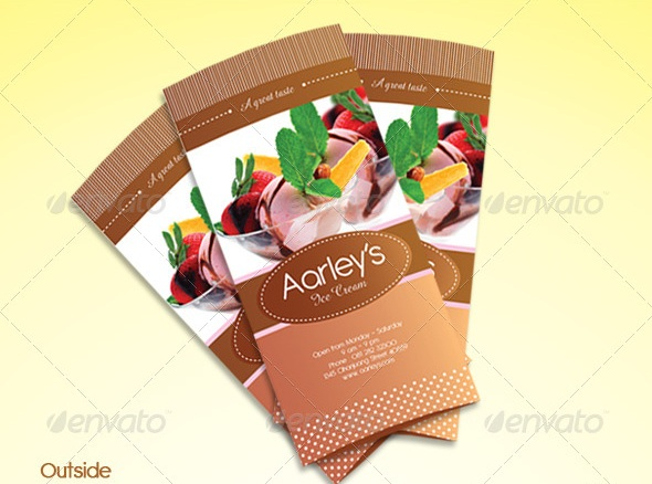Free And Premium Food And Restaurant Menu Brochure  PixelsCom