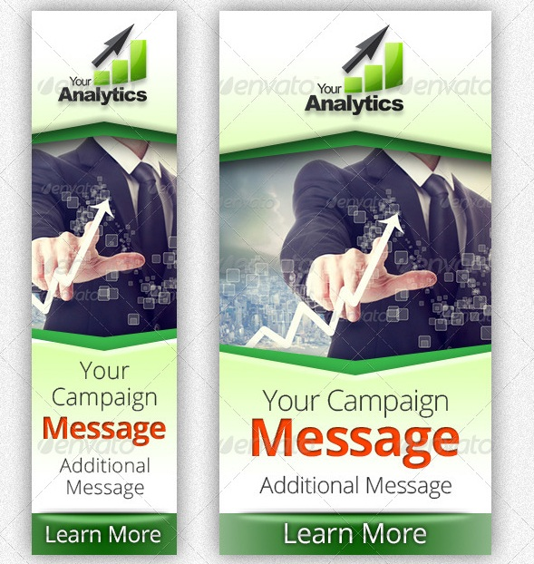 Analytics Company Campaign Web Banners 2