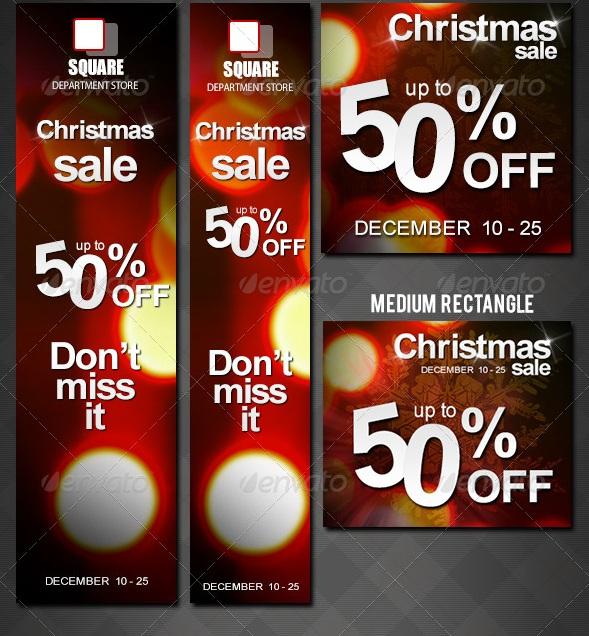 Christmas Sale Ads Banner