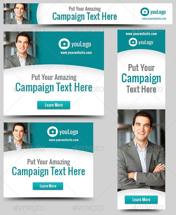 Corporate Web Banner Design Template 28