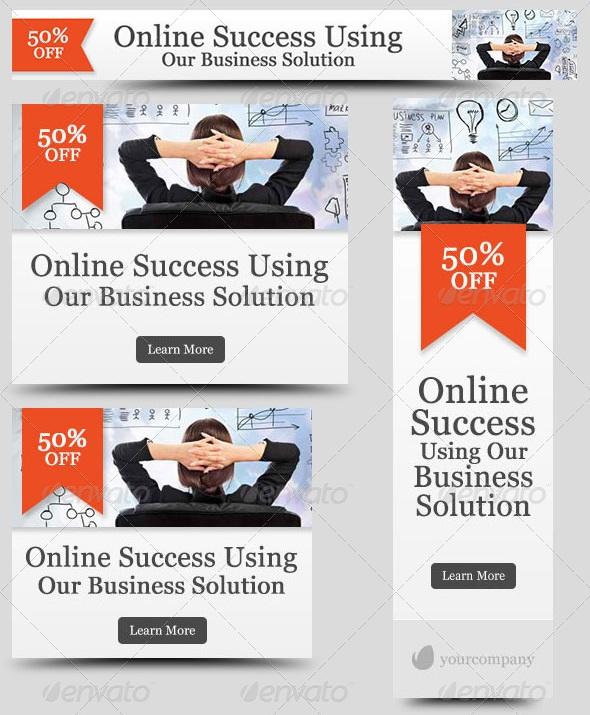 Corporate Web Banner Design Template 29