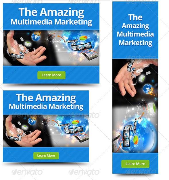 Multimedia Web Banner Design