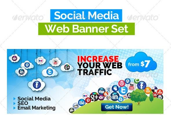 SocialBiz Social Media Web Banners Pack