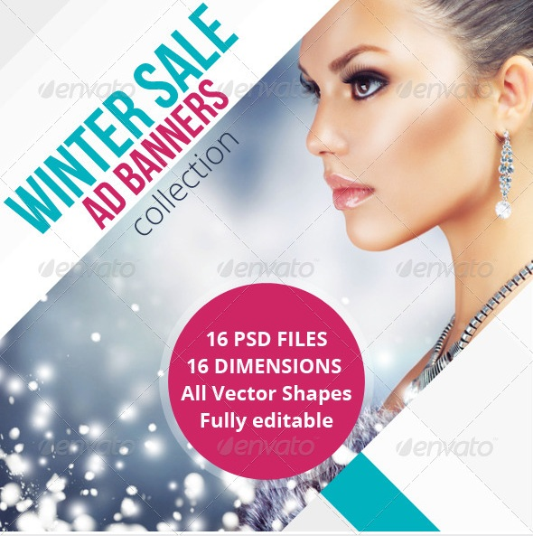 Winter Sale Ad Banners