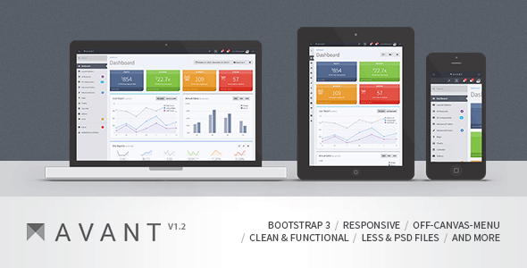 Best free and premium admin and dashboard templates for Bootstrap intranet template