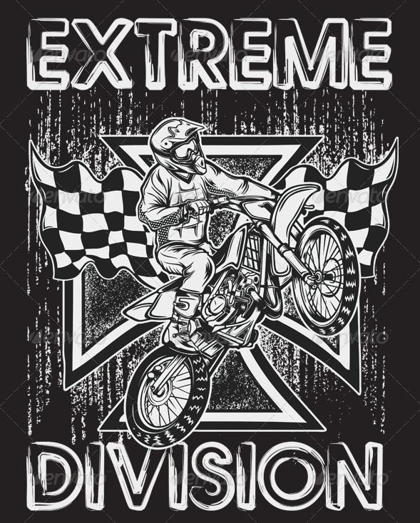Extreme Motor Cross T-Shirt