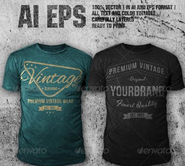 Vintage Shirt Design 114