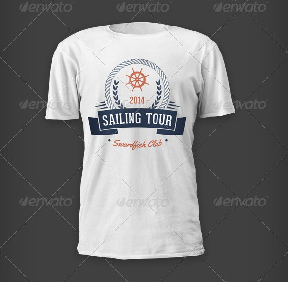Outdoor Events T-shirts - Sailing Tour