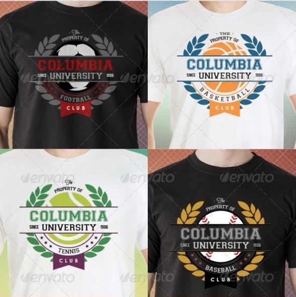 Premium Sports Clubs T-Shirt Templates v9