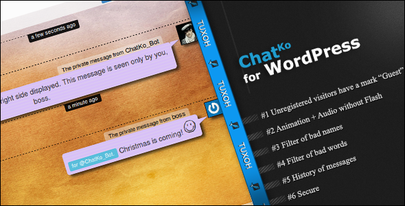 chatko is a quick and easy chat for your wordpress