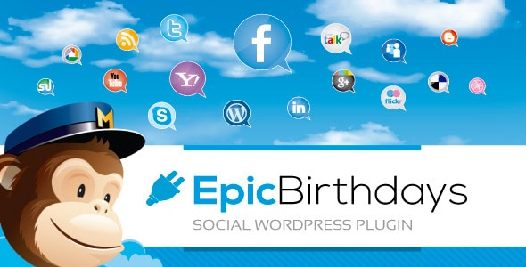 epic birthdays social wordpress plugin