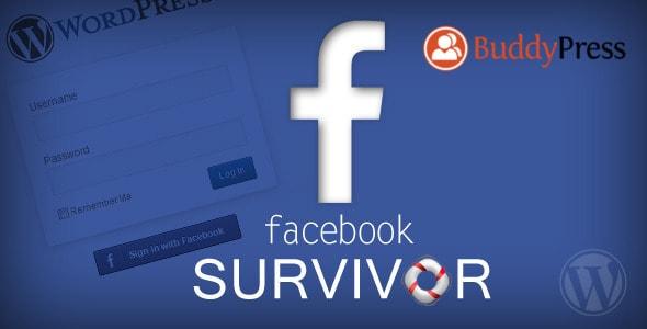 facebook login wordpress plugin (survivor)