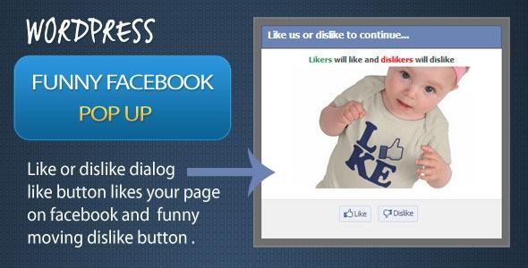 funny facebook pop-up - facebook dislike button