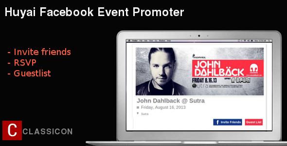 huyai facebook events promoter