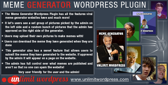 meme generator wordpress plugin