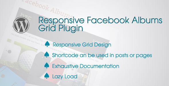 responsive wordpress facebook albums grid plugin