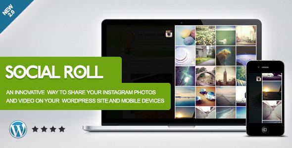 social roll | instagram for wordpress