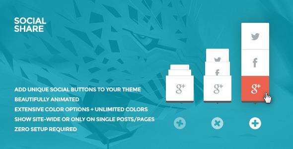 social share: wordpress social share button plugin