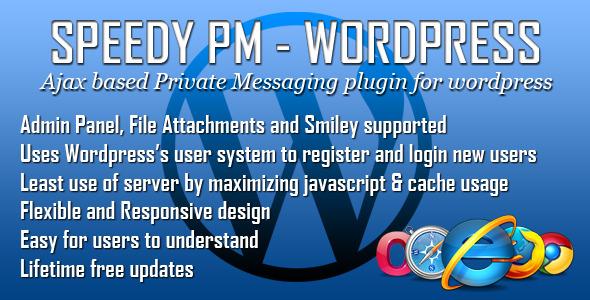 speedy pm for wordpress