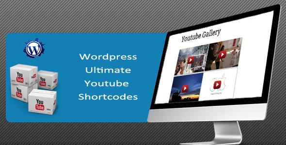 ultimate youtube shortcodes