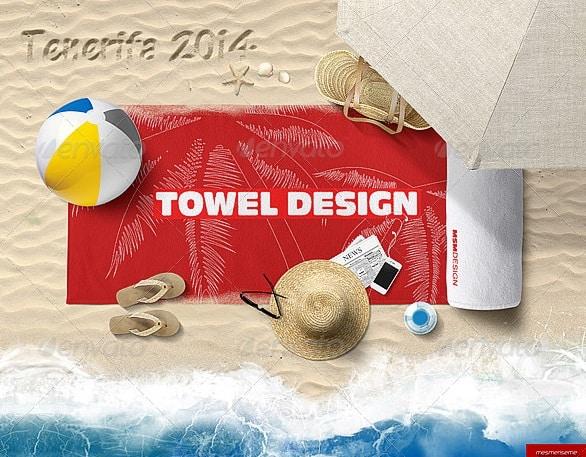 beach bundle - apparel mockups
