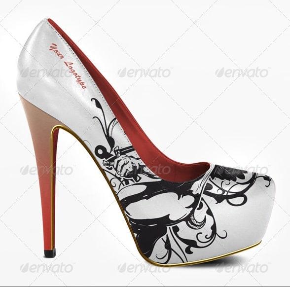high heels bundle - apparel mockups