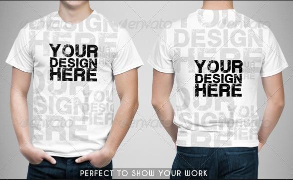 man t-shirt mock-up - apparel mockups