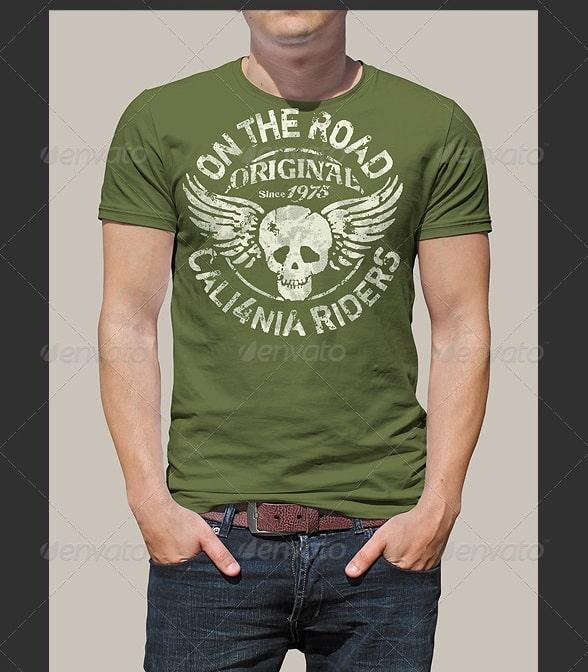 man t-shirt mockup v.1 - apparel mockups